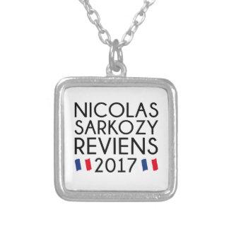 Sarkozy Reviens 2017 Silver Plated Necklace