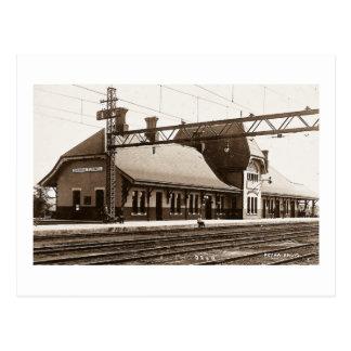 Sarnia Tunnel - Louis Pesha Postcard