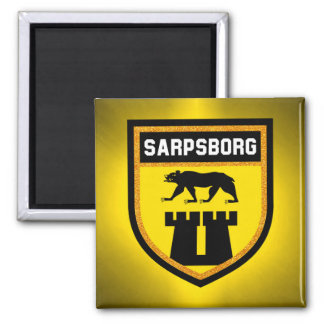 Sarpsborg Flag Magnet