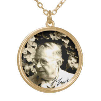 Sartre Gold Plated Necklace