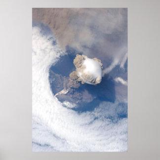 Sarychev Peak Volcano Eruption Original Poster