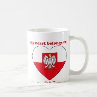 Sas Classic White Coffee Mug