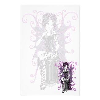 """Sasha"" Couture Pink Valentine Fairy Stationery"