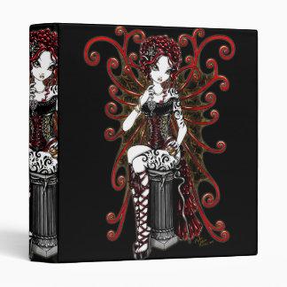 """Sasha"" Gothic Couture Valentine Fairy Binder"