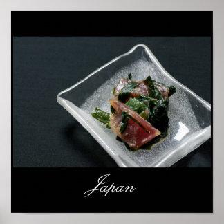 Sashimi in Japan Poster