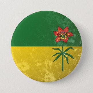 Saskatchewan 3 Inch Round Button