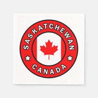 Saskatchewan Canada Disposable Napkins