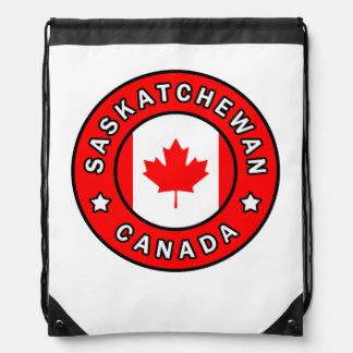 Saskatchewan Canada Drawstring Bag