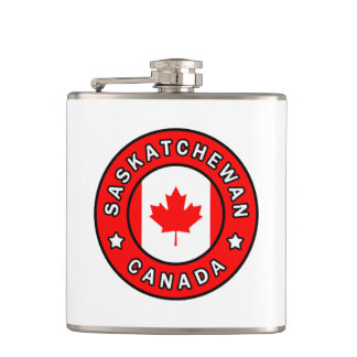 Saskatchewan Canada Hip Flask