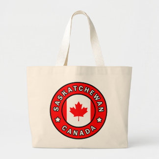 Saskatchewan Canada Large Tote Bag