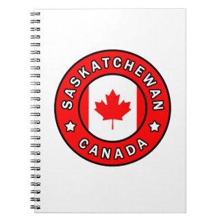 Saskatchewan Canada Notebooks
