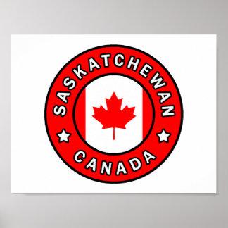 Saskatchewan Canada Poster
