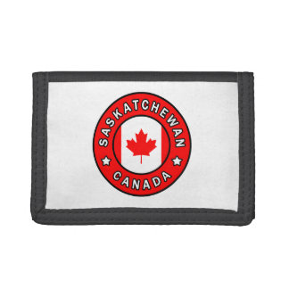 Saskatchewan Canada Tri-fold Wallet