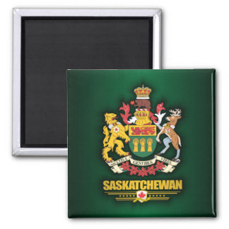 Saskatchewan COA Square Magnet