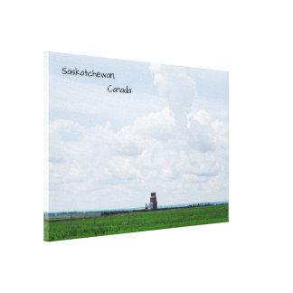 Saskatchewan Fields Canvas Print