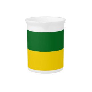saskatchewan-Flag Beverage Pitchers