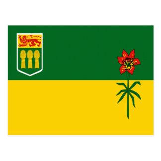 Saskatchewan Flag Postcard