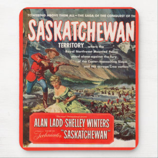 Saskatchewan movie poster mouse pad