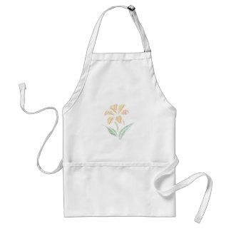 Saskatchewan Prairie Lily Art Standard Apron