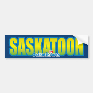 Saskatoon Bumper Bumper Stickers