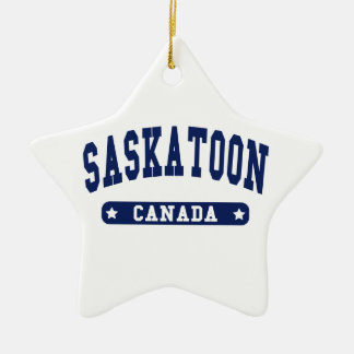 Saskatoon Ceramic Ornament