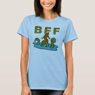 Sasquatch and Nessie are BFF T-Shirt