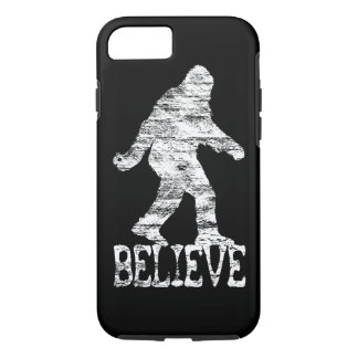 Sasquatch BELIEVE Distressed iPhone 7 case