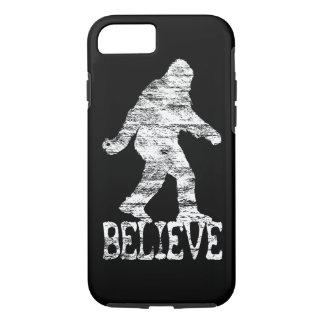 Sasquatch BELIEVE Distressed iPhone 7 case