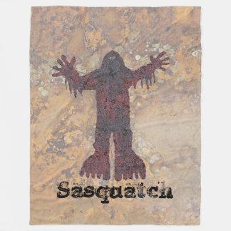 Sasquatch Fleece Blanket