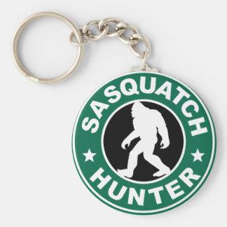 Sasquatch Hunter Keychain
