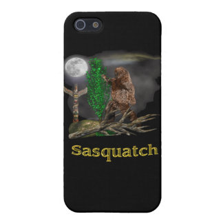 Sasquatch I-pod cover iPhone 5 Cases