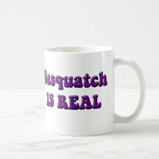 Sasquatch Is Real Classic White Coffee Mug