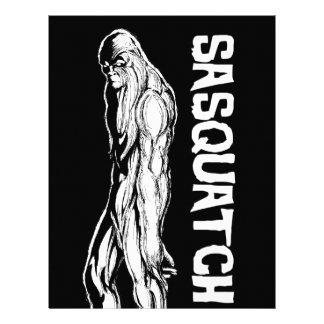 Sasquatch Letterhead