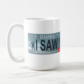 Sasquatch License Plate Coffee Mug