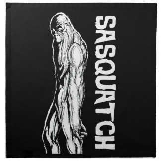 Sasquatch Napkin