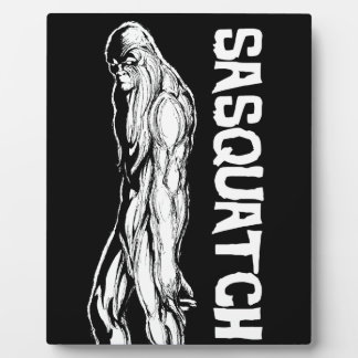 Sasquatch Plaque