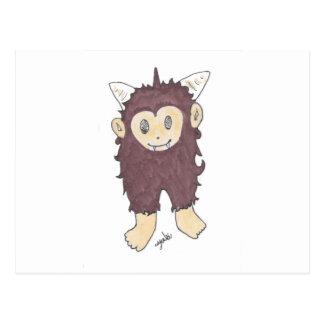 sasquatch postcard
