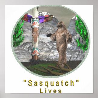 Sasquatch Poster