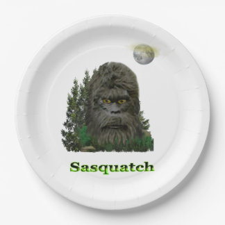 Sasquatch products 9 inch paper plate