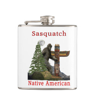 sasquatch products hip flask