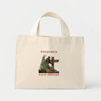sasquatch products mini tote bag