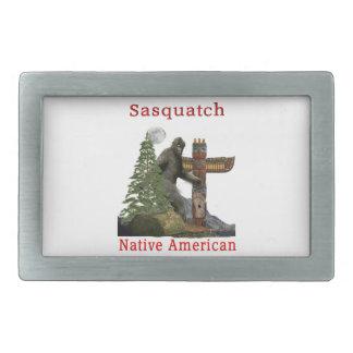 sasquatch products rectangular belt buckle
