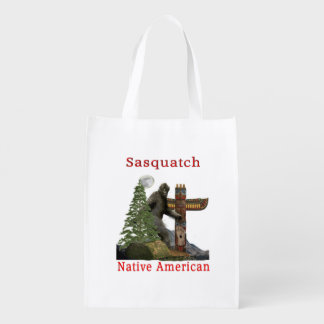 sasquatch products reusable grocery bag