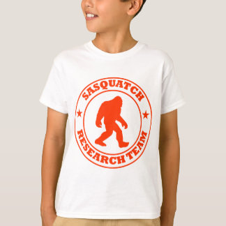 SASQUATCH RESEARCH TEAM - Bigfoot Pro's Red Logo T-shirts