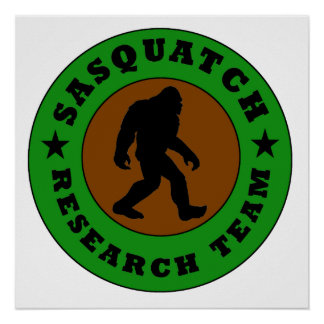 Sasquatch Research Team Print