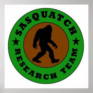 Sasquatch Research Team Print