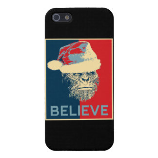 Sasquatch Santa Believe iPhone 5 Case