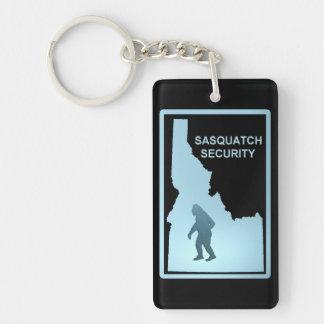 Sasquatch Security - Idaho Double-Sided Rectangular Acrylic Keychain