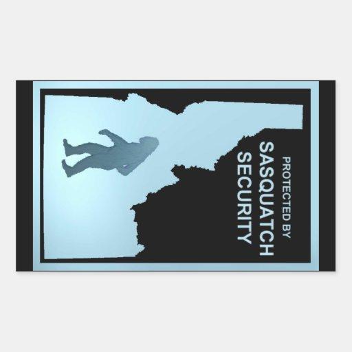 Sasquatch Security - Idaho Rectangle Sticker