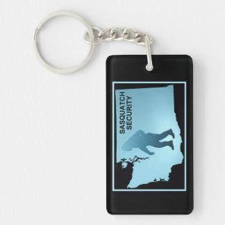 Sasquatch Security - Washington Single-Sided Rectangular Acrylic Keychain